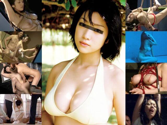 小向美奈子 「花と蛇」 メイキング映像